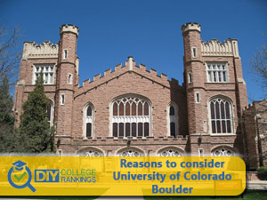 University of Colorado Boulder campus