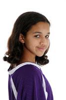 Smart Softball Girl