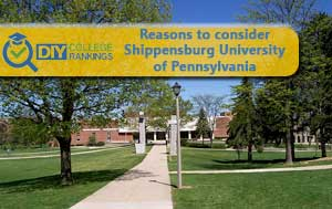 Shippensburg University campus