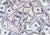 Picture of financial aid money
