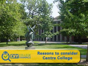 Centre College campus