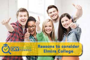 Students happy at Elmira college
