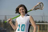 Women's Lacrosse player