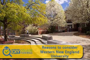Western New England University campus