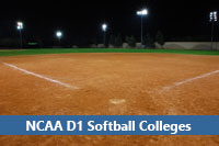 softball field representing d1 softball colleges