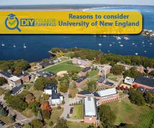 University of New England campus