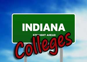 Sign for Indiana colleges