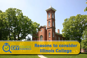 Illinois College campus