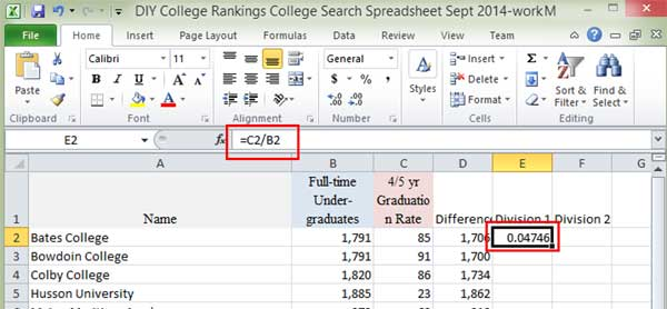 how to get 10 percent of a number in excel