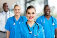 pictures of nurses representing Colleges with the Most Health Professions Majors