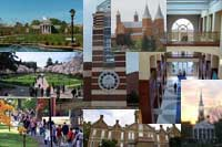 collage of colleges with high graduation rates