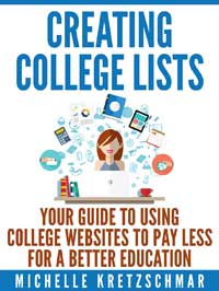 Creating College Lists Book Cover