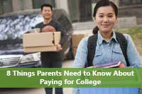 Picture representing what parents need to know about paying for college