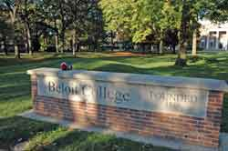 Picture of sign for Beloit College