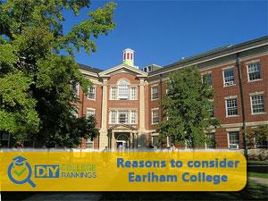 Earlham College campus