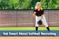 picture for college softball recruiting